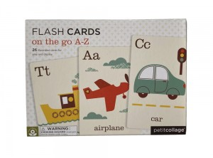 Flashcards on to go A-Z