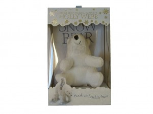 Snow Bear - book and bear
