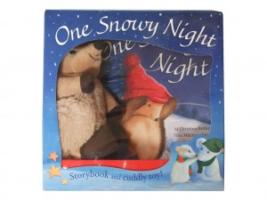 One Snowy Night - Storybook and Toy